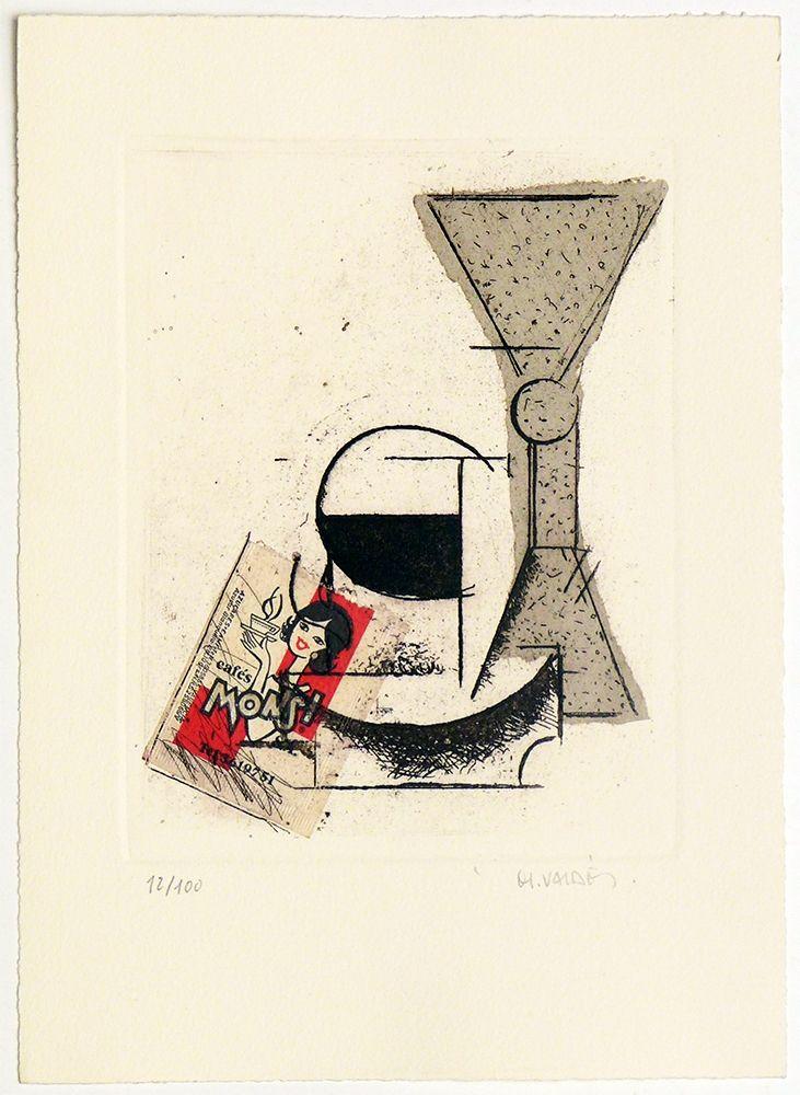 Etching Valdés - Still Life II