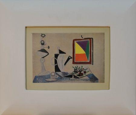 Lithograph Picasso - Still Life (Nature morte au miroir)