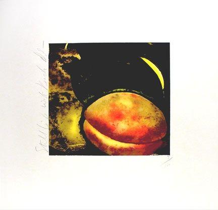 Screenprint Sultan - Still Life with Peach