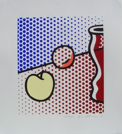 Screenprint Lichtenstein - Still Life with Red Jar