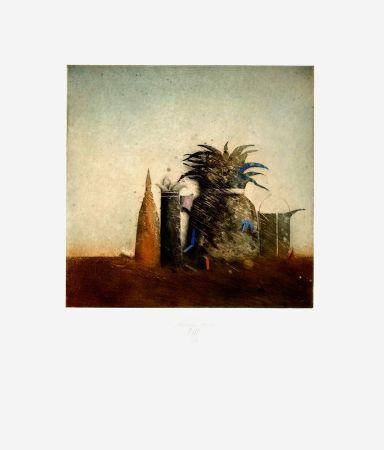 Etching And Aquatint Mordstein - Stilleben / Still Life
