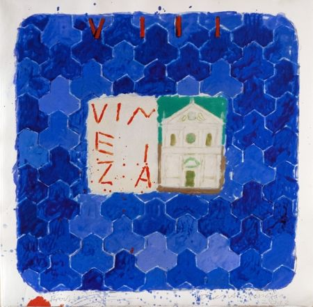 Carborundum Tilson - Stones of Venice San Francesco della Vigna Vinezia