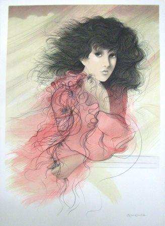 Lithograph Benvenuti - Story of Spring