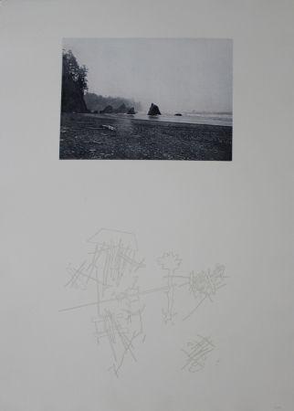Screenprint Roth - Strand / Beach