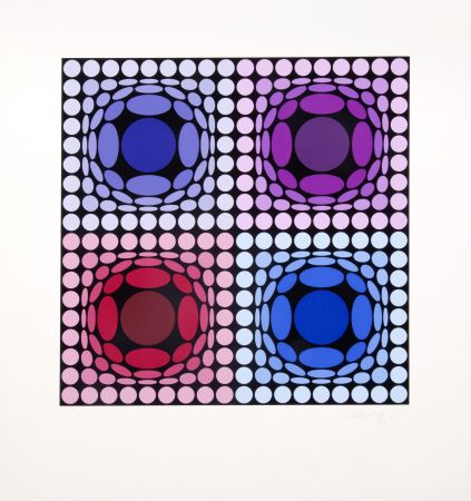 Multiple Vasarely - Stri-arch