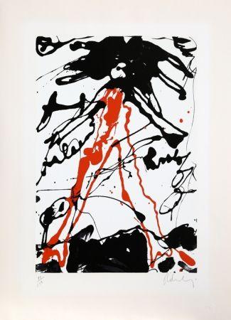 Screenprint Oldenburg - Striding Figure
