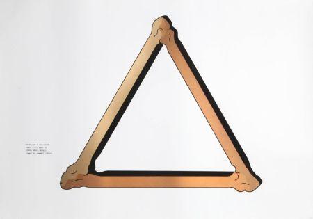 Screenprint Morris - Study for Copper Sculpture