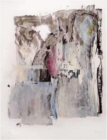 Lithograph Frankenthaler - Sudden Snow (1987)