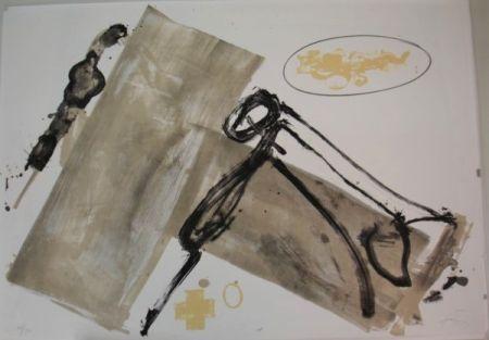 Lithograph Tàpies - Suite 63 x 90