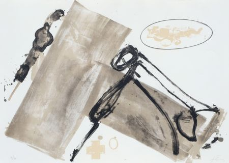 Lithograph Tapies - Suite 63 X 90 (No 1)