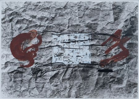 Lithograph Tapies - Suite 63 X 90 (No 10)
