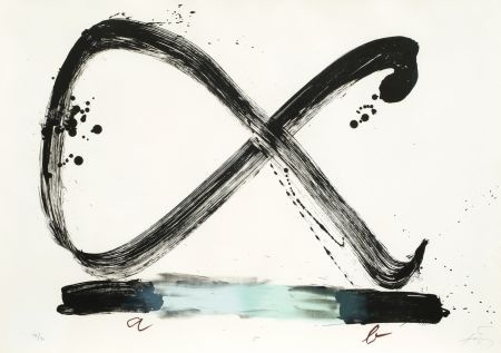 Lithograph Tapies - Suite 63 X 90 (No 5)