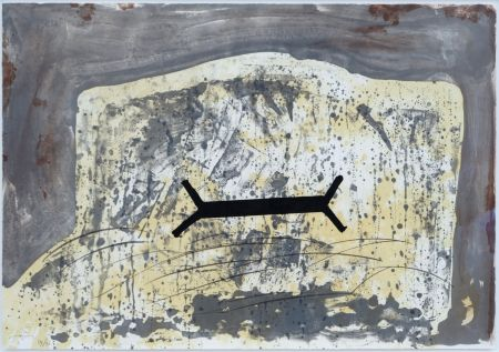 Lithograph Tapies - Suite 63 X 90 (No 6)