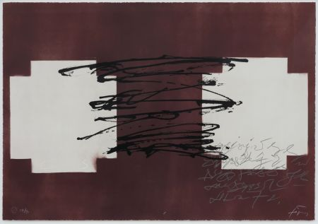 Lithograph Tapies - Suite 63 X 90 (No 8)
