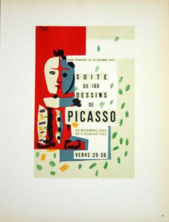 Lithograph Picasso (After) - Suite de 180  Dessins  1954