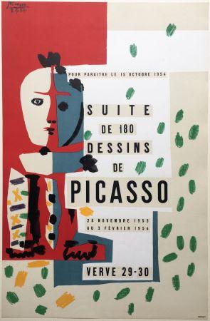 Lithograph Picasso - SUITE DE 180 DESSINS. VALLAURIS VERVE 29-30. 1953-1954