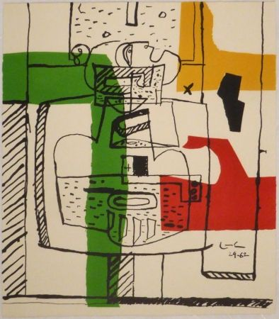 Illustrated Book Le Corbusier - Suite De Dessins