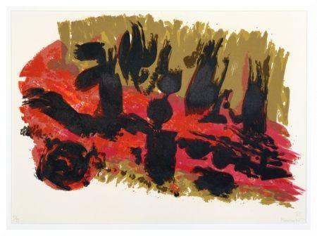 Lithograph Manessier - Suite de Pâques - Les Saintes femmes