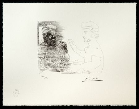 Lithograph Picasso (After) - Suite Vollard