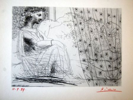 Lithograph Picasso - Suite Vollard