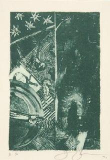 Lithograph Johns - SUMMER