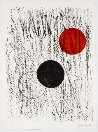 Lithograph Hepworth - Sun and Moon