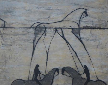 Etching Bedia - Sunka Wakan
