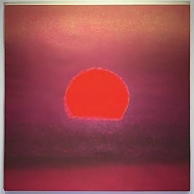 Screenprint Warhol - Sunset