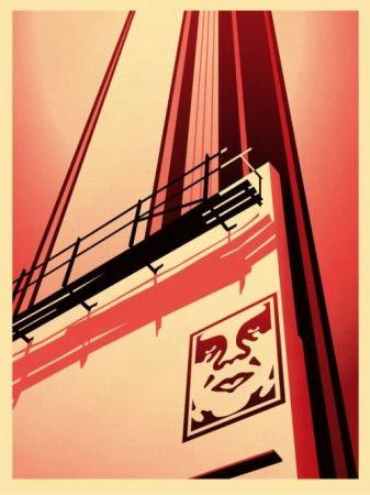 Screenprint Fairey - Sunset & Vine Billboard