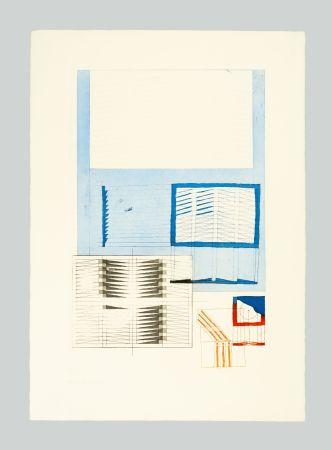 Lithograph Bonalumi - Superficie