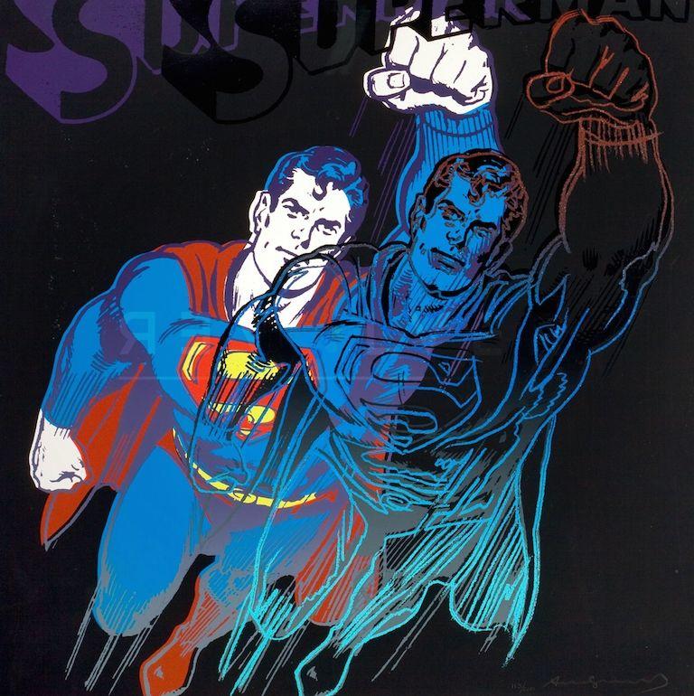 Screenprint Warhol - Superman (FS II.260)