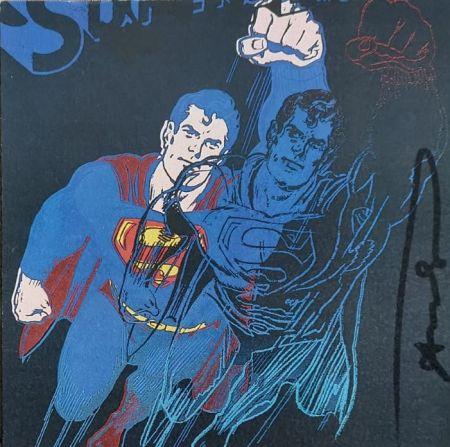 Screenprint Warhol - Superman