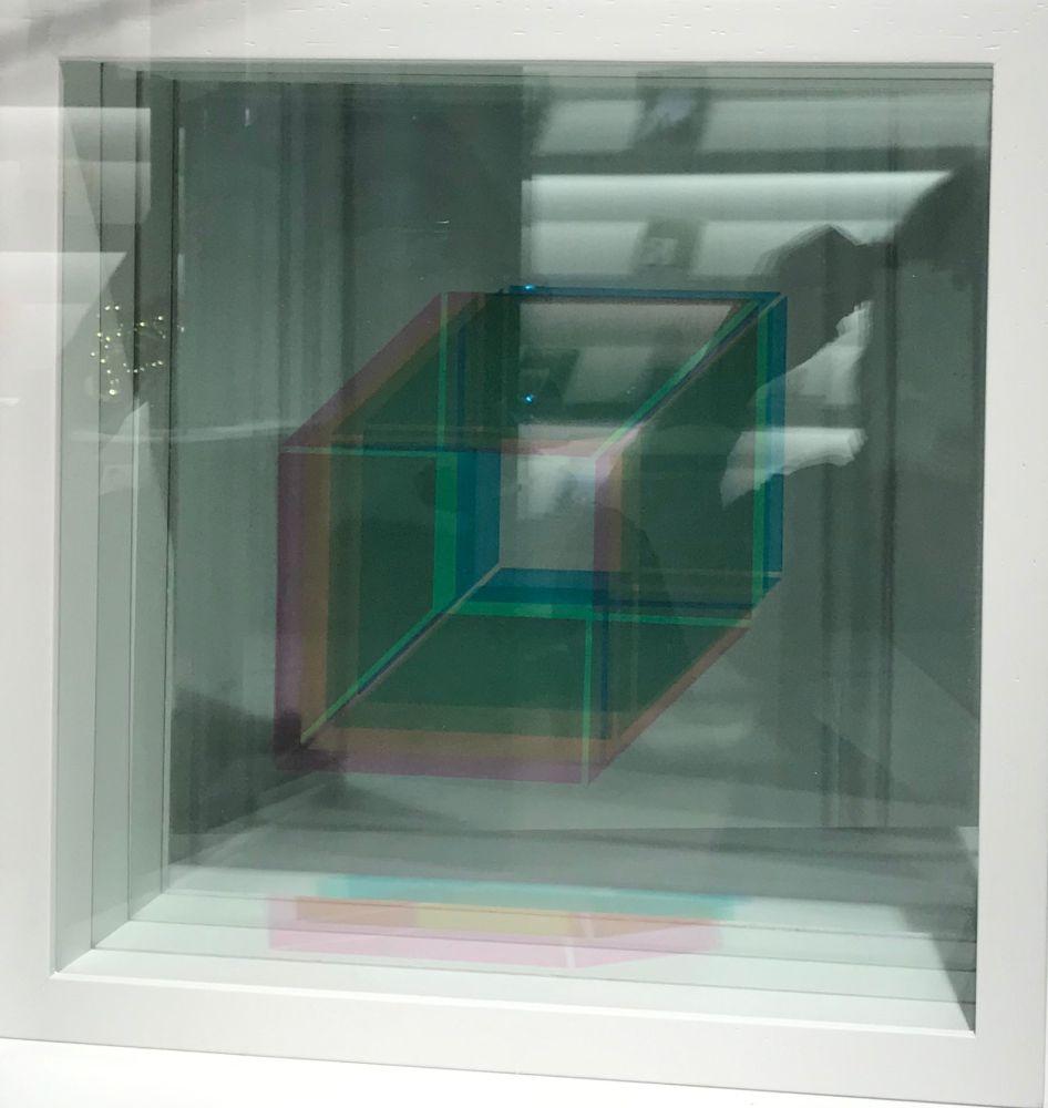 Screenprint Bury - Superpositions (sur commande, montage en blanc)