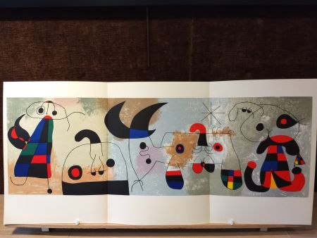 Illustrated Book Miró - Sur quatre murs