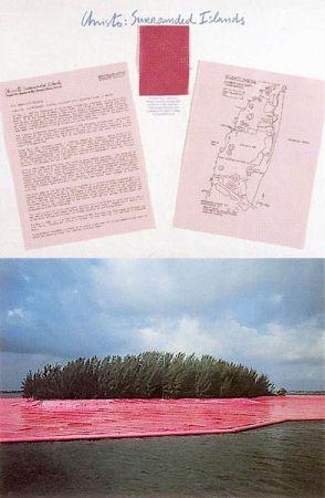 Photography Christo - Surrounded Islands IV