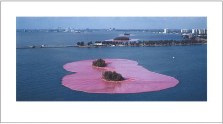 Photography Christo - Surrounded Islands Miami
