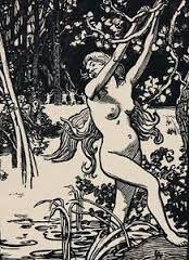 Woodcut Lepere - Susanna et les vieillards