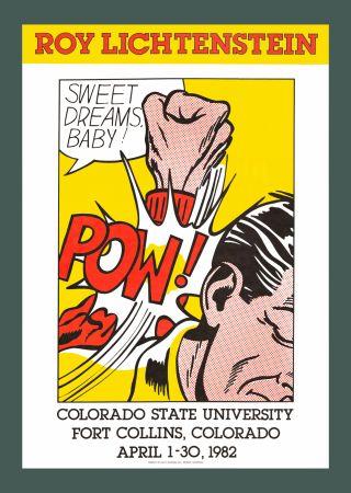 Screenprint Lichtenstein - Sweet Dreams, Baby! (Hand Signed)