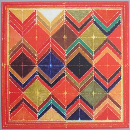Lithograph Raza - Symboles 1