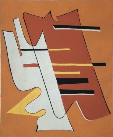 Pochoir Magnelli - Témoignages pour l'art abstrait