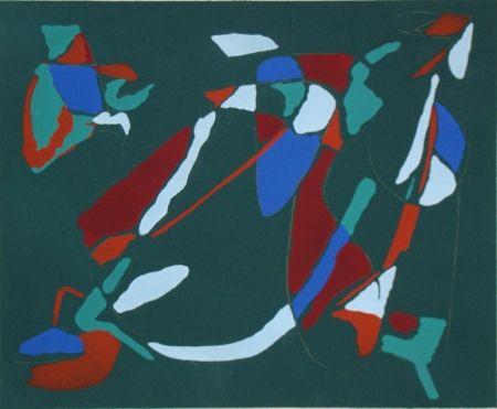 Pochoir Lanskoy - Témoignages pour l'art abstrait