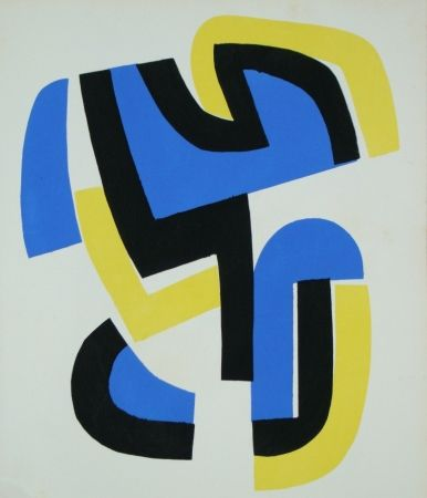 Pochoir Dewasne - Témoignages pour l'art abstrait