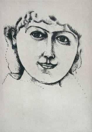 Drypoint Derain - Tête de Femme