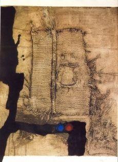 Engraving Clavé - Table et toile de sac