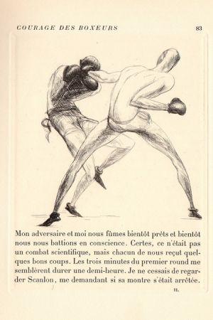 Illustrated Book De Segonzac - Tableaux contemporains: Tableau des Courses, de la Boxe, de la Vénérie, de l'Amour Vénal, des Grands Magasins, de la Mode, de l'Au-Delà, du Palais, de la Bourgeoisie.