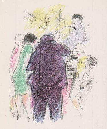 Illustrated Book Vertes - Tableaux contemporains: Tableau des Courses, de la Boxe, de la Vénérie, de l'Amour Vénal, des Grands Magasins, de la Mode, de l'Au-Delà, du Palais, de la Bourgeoisie.