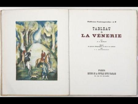 Illustrated Book Boussingault - Tableaux contemporains: Tableau des Courses, de la Boxe, de la Vénérie, de l'Amour Vénal, des Grands Magasins, de la Mode, de l'Au-Delà, du Palais, de la Bourgeoisie.