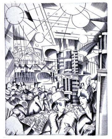 Illustrated Book Laboureur - Tableaux contemporains:  Tableau des Courses, de la Boxe, de la Venerie, de l'Amour Venal, des Grands Magasins, de la Mode, de l'Au-Delà, du Palais, de la Bourgeoisie