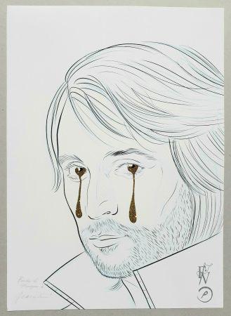 Screenprint Vezzoli  - TAKE my TEARS