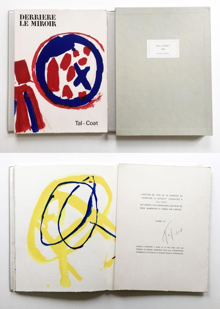Illustrated Book Tal Coat - TAL COAT. DERRIÈRE LE MIROIR N° 131. Mai 1962. TIRAGE DE LUXE SIGNÉ.